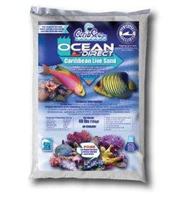 CaribSea Caribsea Ocean Direct Caribbean Live Sand - 40 lb