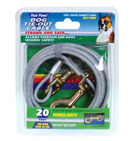 Four Paws Tie-Out Cable for Dogs - Heavy Weight - 20 ft