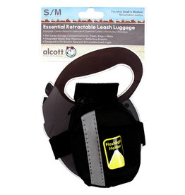 Alcott Alcott Essentials Retractable Leash Luggage - Black - Small