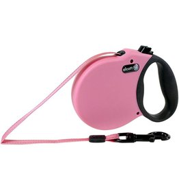 Alcott Alcott Adventure Retractable Leash - Pink - Large