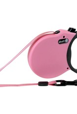Alcott Alcott Adventure Retractable Leash - Pink - X-Small