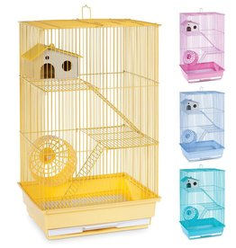 "Prevue Hendryx Prevue Hendryx 3-Story Hamster/Gerbil Cage -- 14.5"" x 11.25"" x 22"""