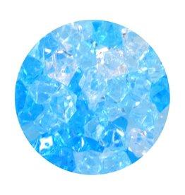 Aqua One Aqua One Crystal Gems Acrylic Gravel - Blue Ice - 5 oz