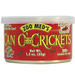 Zoo Med Zoo Med Can O' Crickets - Mini - 1.2 oz