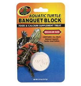 Zoo Med Zoo Med Aquatic Turtle Banquet Block - Regular - 1 pk