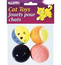 Burgham Cat Toys Value Pack 4pc