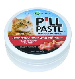 Earths Balance Earths Balance Pill Paste for Cats Bacon Flavor 2.1oz