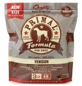 Primal Primal Frozen Venison Nuggets Dog Formula 3lb