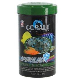 Cobalt Aquatics Cobalt Aquatics Spirulina Flakes Premium Fish Food - 1.2 oz