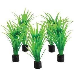 "Underwater Treasures Underwater Treasures Mini Plant - Green Tall Grass - 3.25"" - 5 pk"