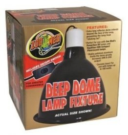 Zoo Med Zoo Med Repti Deep Dome Lamp Fixture
