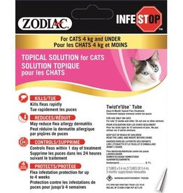 Zodiac Zodiac Infestop Topical Flea Adulticide for Cats Under 4KG