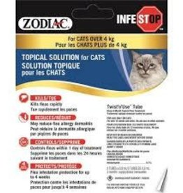 Zodiac Zodiac Infestop Topical Flea Adulticide for Cats Over 4KG
