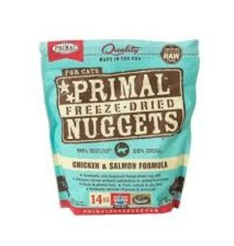 Primal Primal Freeze-Dried Feline Nuggets Chicken & Salmon Formula 14oz