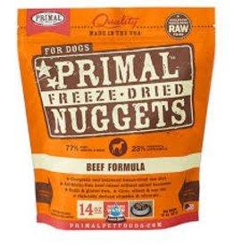 Primal Primal Freeze-Dried Nuggets Canine Beef Formula 5.5oz