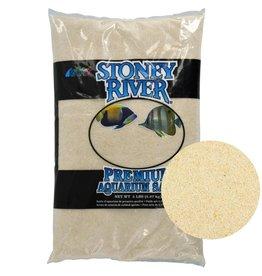 estes Estes Stoney River Premium Aquarium Sand - Beige - 5 lb