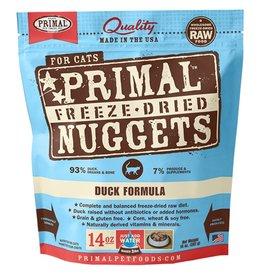 Primal Primal Freeze-Dried Feline Nuggets Duck Formula 5.5oz