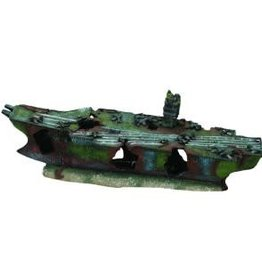 Aqua-Fit Aqua-Fit Aircraft Carrier Shipwreck 16x5x6in
