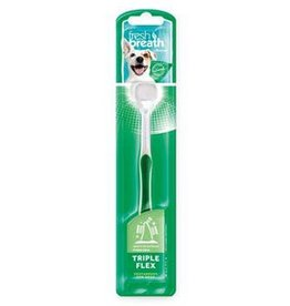 Tropiclean Tropiclean Triple Flex Toothbrush for Small Dogs