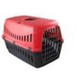 Bergamo Gipsy Small Metal Door Pet Carrier Red