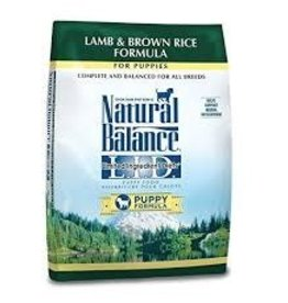 Natural Balance Natural Balance L.I.D. Lamb & Brown Rice Puppy 24lb