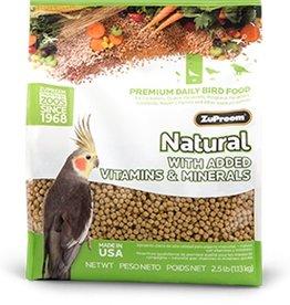 Zupreem ZuPreem Natural Cockatiel Maintain 2.5lbs