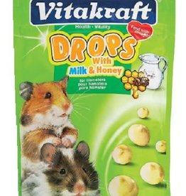 VitaKraft Vitakraft Hamster Milk and Honey Drops 5.3oz