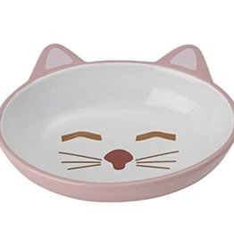 "Petrageous Petrageous Sleepy Kitty 5.5"" Oval Pink 5.3oz"
