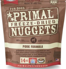 Primal Primal Freeze-Dried Nuggets Canine Pork Formula 14oz