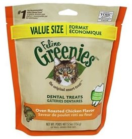 Greenies Greenies Feline Dental Oven Roasted Chicken 5.5OZ