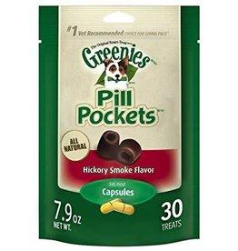 Greenies Greenies Pill Pockets Hickory Smoke 30tbs