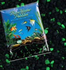 Nature's Ocean Nature's OceanPebbles Emerald GLO Green & Black 5LB