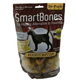 Smart Bones SmartBones Peanut Butter, Mini, 24 pack