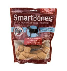 Smart Bones SmartBones - Chicken - Medium - 4pk