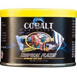 Cobalt Aquatics Cobalt Aquatics Tropical Flakes Premium Fish Food - 0.5 oz