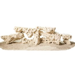 CaribSea CaribSea South Seas Rock - WHITE Shelf Rock - 40 lb