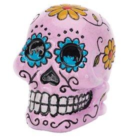 Penn Plax Penn Plax Deco Replicas Mini Sugar Skull - Pink