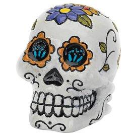 Penn Plax Penn Plax Deco Replicas Mini Sugar Skull - White