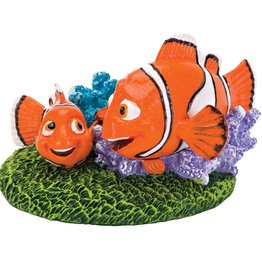 Penn Plax Penn Plax - Nemo and Marlin with Coral - Medium