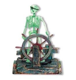 Penn Plax Penn Plax Action-Air Skeleton at the Wheel