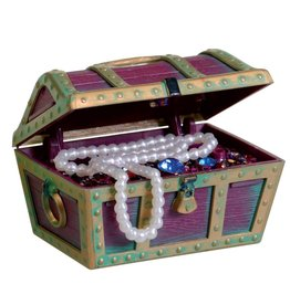 Penn Plax Penn Plax Action-Air Treasure Chest - Small
