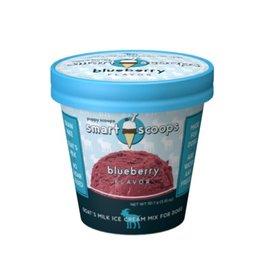 puppy cake Puppy Scoops Goats Milk Ice Cream Mix - Blueberry