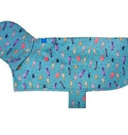 RC Pets RC Pets Packable Rain Poncho Shoal XL