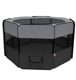 "Dogit Dogit Soft-Sided Nylon Dog Playpen - Octagon Shape - 107 x 60 x 45 cm (42.2"" x 23.6"" x 17.7"")"