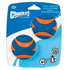 Chuckit Chuckit! Ultra Squeaker Ball Medium 2pk