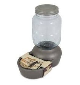 Petmate Petmate Mason Jar Replendish Feeder 18LB