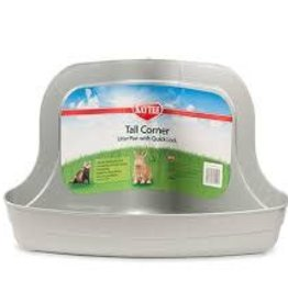 Kaytee Kaytee Tall Corner Litter Pan with Quick Lock
