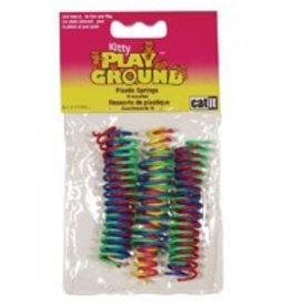 Catit Catit Kitty Playground Cat Toy - Mini Silly Plastic Springs - 10 pcs