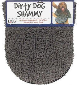 Dog Gone Smart Dog Gone Smart Dirty Dog Shammy Towel Grey 13x31