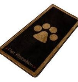Pet Rebellion Pet Rebellion Stop Muddy Paws Brown